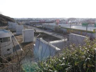土木-象潟仁賀保道路(にかほ市平沢地内)の橋渠下部工事