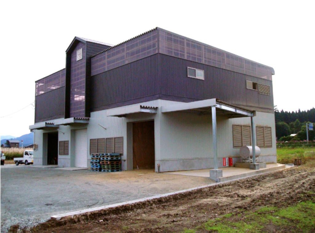 建築-(農)山ゆり 農業用倉庫 建築工事
